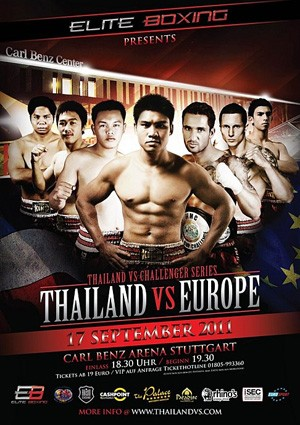Thailand vs Europe 17 September 2011 - Deutschland